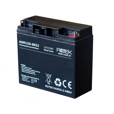 Baterie 12V/22Ah AGM12D-0022 DEEP CYCLE